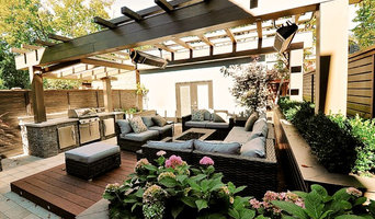 Rosedale Backyard Living Space