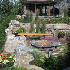 Eclectic Landscape by Duguid Design - DDLA Design