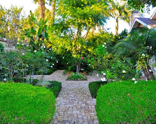 Tropical Courtyard Garden Design Ideas Renovations Photos