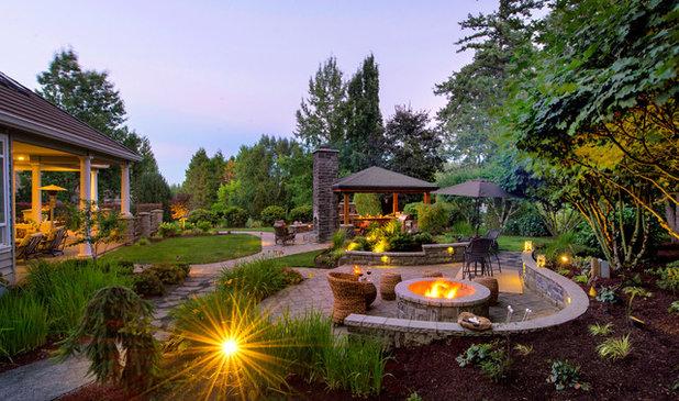 Craftsman Landscape by Paradise Restored Landscaping & Exterior Design