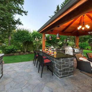 Idee per un giardino stile americano