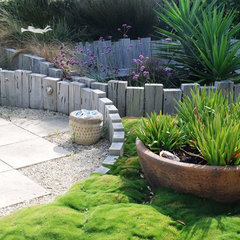 contemporary landscape by Earthwork Landscape Architects