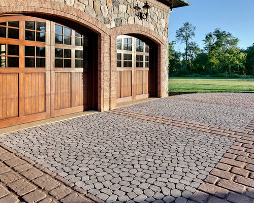 Rustic driveway garden design ideas renovations photos for Martin wade landscape architects