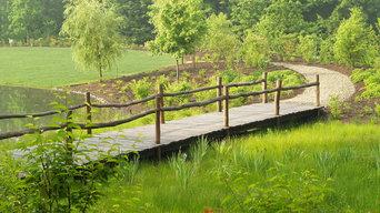 Rustic Footbridge