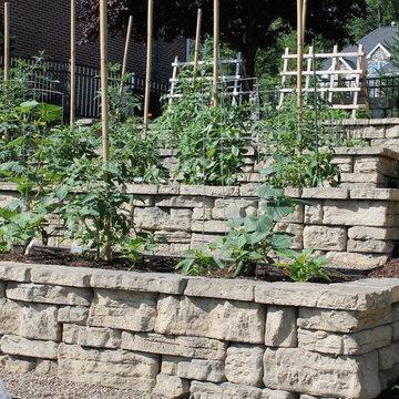 Rustic Italian Vegetable Garden