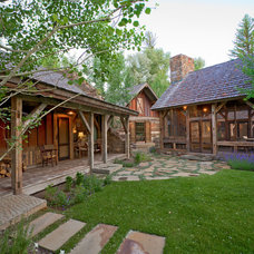 Rustic Landscape by JLF & Associates, Inc.