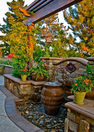 Mediterranean Garden by Dreamscapes