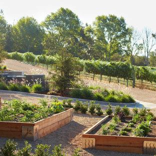 Design Ideas For A Rustic Vegetable Garden Landscape In Santa Barbara