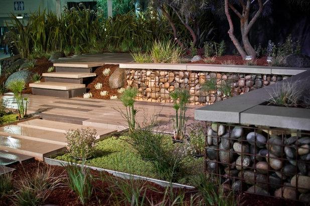 Muros De Gaviones Un Atractivo Y Economico Recurso Para Tu Jardin - Muros-jardin