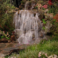 Eclectic Landscape by Clearwater Designs