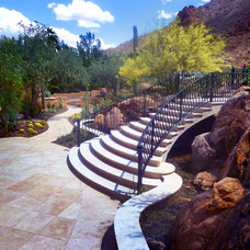 Traditional Landscape by Bianchi Design