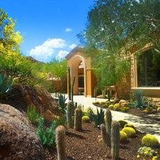 Mediterranean Landscape by Bianchi Design