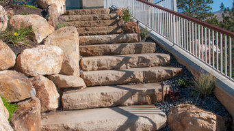 Sandstone Steps - Stack Rock Group :: Creative Landscape Architecture from Boise