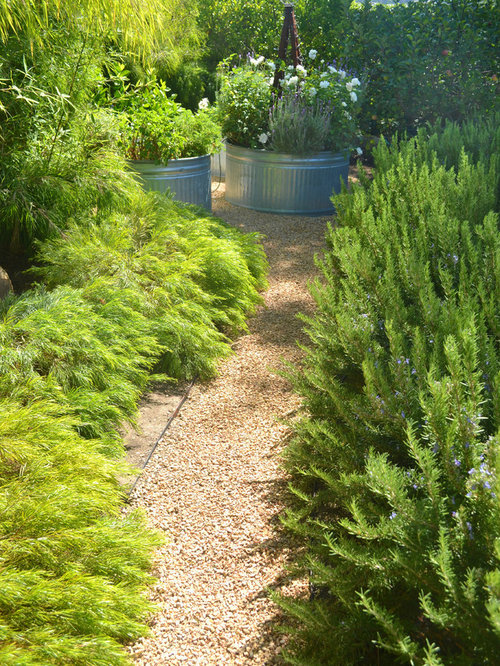 This Is An Example Of A Modern Gravel Landscaping In San Luis Obispo.