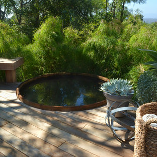 Design ideas for a modern landscaping in San Luis Obispo with decking.