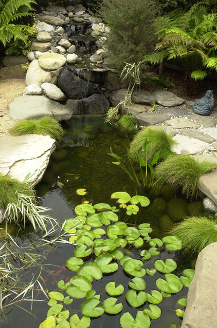 asian landscape by Van De Voorde Elemental Design Group