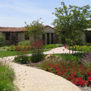 Inspiration for a traditional full sun front yard landscaping in San Diego.