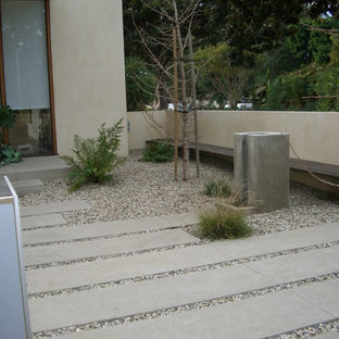 Design ideas for a contemporary walkway in Los Angeles.