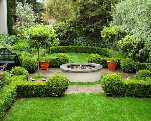 Mediterranean home design photos decor ideas for Home garden design houzz