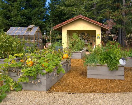 Design Ideas For A Mediterranean Vegetable Garden Landscape In San  Francisco.