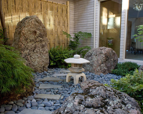 Japanese Stone Lantern Ideas Pictures Remodel And Decor