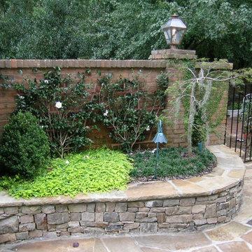 Savannah Style Courtyard