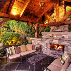 Traditional Landscape by Cedar Springs Landscape Group