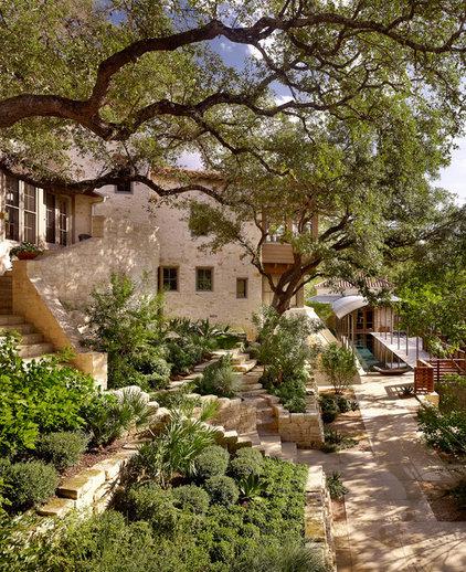 Mediterranean Landscape by Root Design Company.com