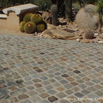 Scottsdale AZ: Granite Cobblestone 6x6