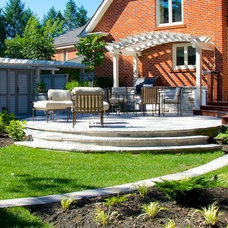 Traditional Landscape by Uncommon Ground Landscape Design