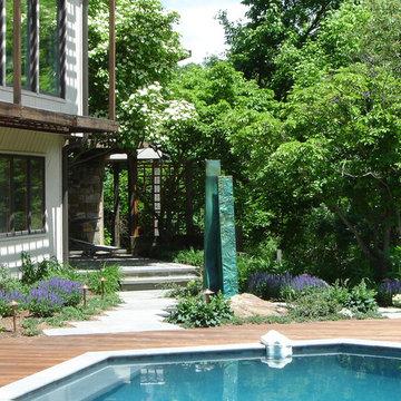 Sculpture Garden & Pool