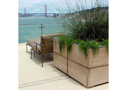 contemporary landscape by Suzman Design Associates