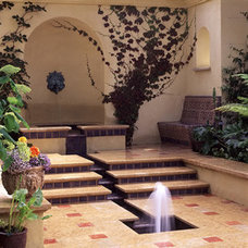 Mediterranean Landscape by Suzman Design Associates