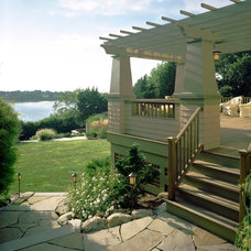 Craftsman Landscape by Ronald F. DiMauro Architects, Inc.