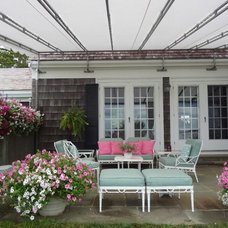 traditional porch by Maria Hickey & Associates Landscapes