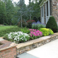 Traditional Landscape by Botanica Atlanta | Landscape Design-Build-Maintain