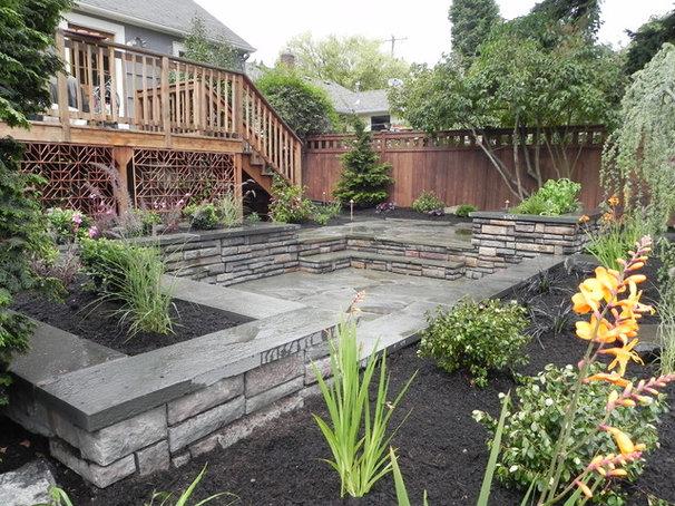 Eclectic Landscape by Sublime Garden Design, LLC