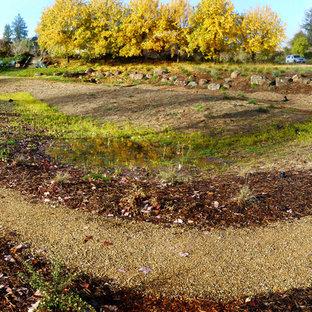 Idee per un giardino rustico in inverno