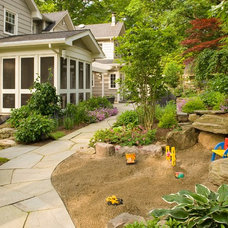 Traditional Kids by Cording Landscape Design