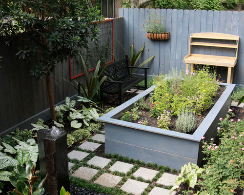 Raised Bed Herb Garden Home Design Ideas Pictures