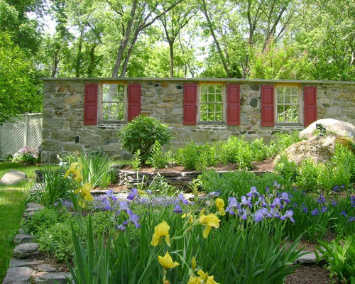 Rock Garden Wall | Houzz