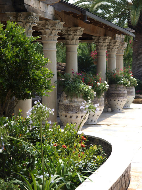 Garden Pillars Houzz