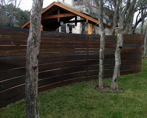 Curved Fence Ideas Pictures Remodel And Decor