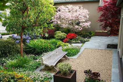 Traditional Landscape by Garden Architecture