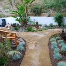 Mediterranean Landscape Shadow Hills Backyard Retreat