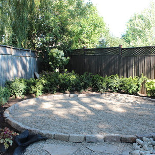 Photo of a large traditional landscaping in Toronto.