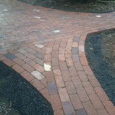 Traditional Landscape by Go brick and stone masonry