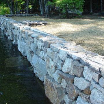 Shoreline Retaining Walls