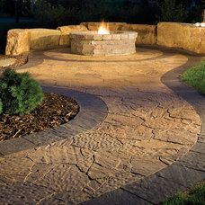 Rustic Landscape by SBI Building Materials & Landscape Supplies
