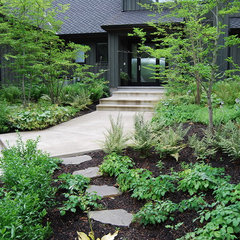 contemporary landscape by Samuel H. Williamson Associates